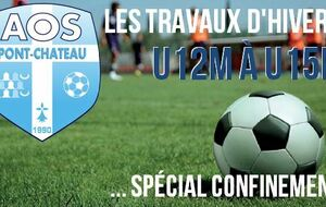 PLANNING U12M à U15M (CONFINEMENT ACTE II)
